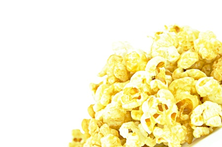 Sweet caramel popcorn photo