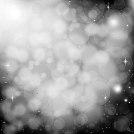 Lens flare abstract background - monochrome photo