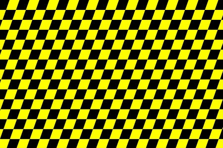 Yellow and black checkered background photo