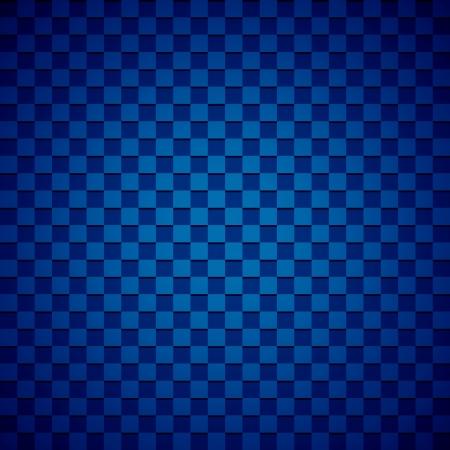 Blue checkered background photo