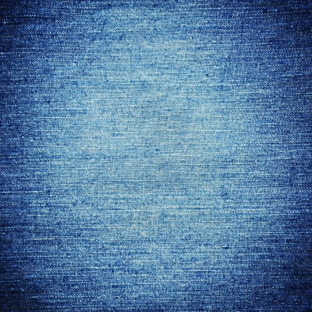 blue jean fabric texture background photo