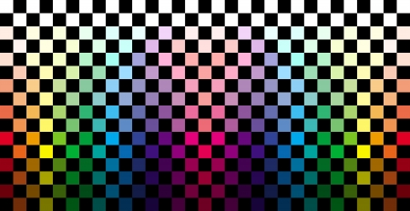 mixed race: Abstract colorful checkered background
