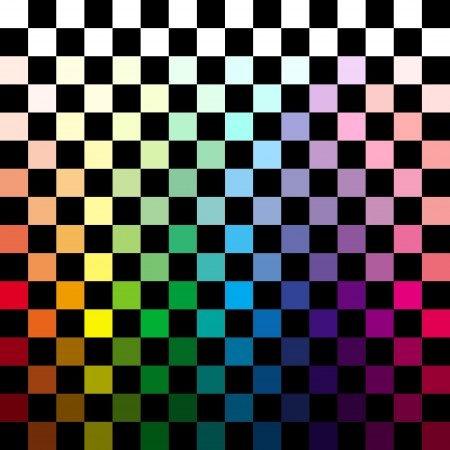 Abstract colorful checkered background photo