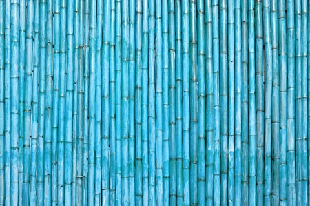 Blue bamboo wood abstract background photo