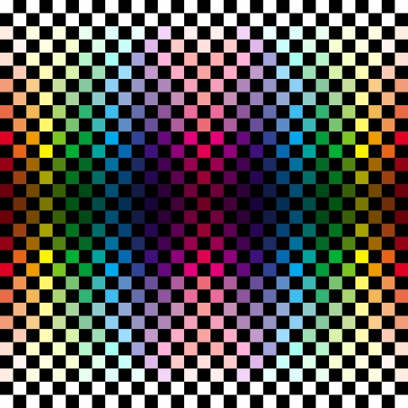 checker: Abstract colorful checkered background