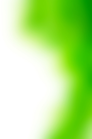 White and green abstract background photo