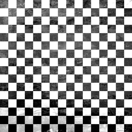 Retro style black & white checkered background Stock Photo - 20645863