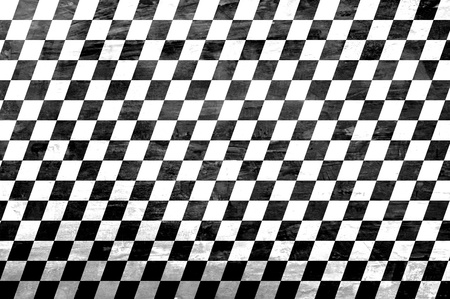 Retro style black & white checkered background Stock Photo - 20645870
