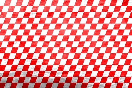 Retro style red & white checkered background Stock Photo - 20645878