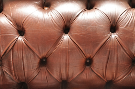 Brown leather texture - background photo