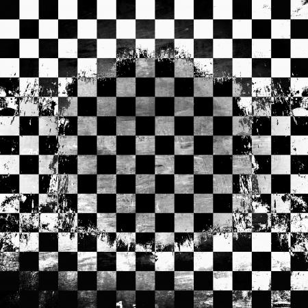 checkerboard: Retro style black   white checkered background