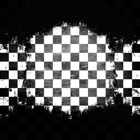 checkerboard: Retro style checkered background Stock Photo