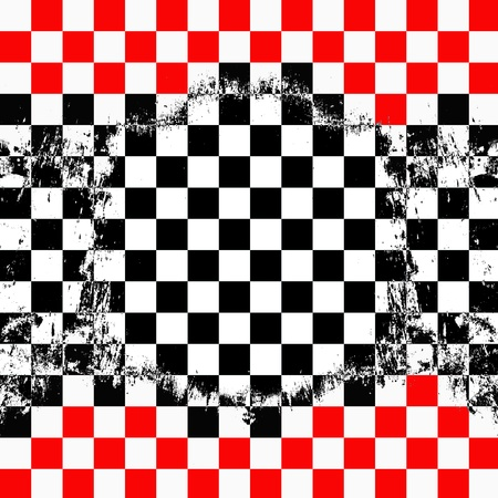 Retro style checkered background photo