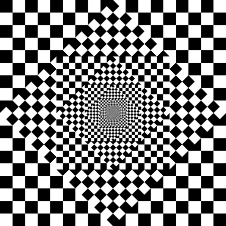 Black and white checkered abstract background Stock Photo - 21014403