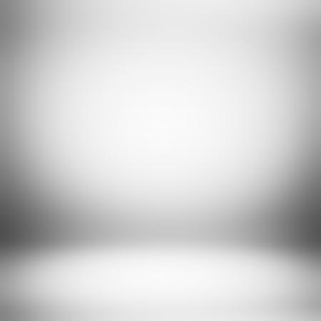 灰色のグラデーションの抽象的な背景