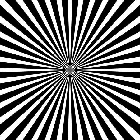 blanc: Fond de rayon noir et blanc Illustration