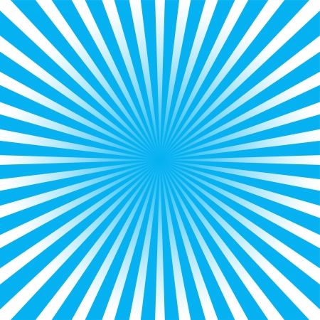 White and blue ray background Vector