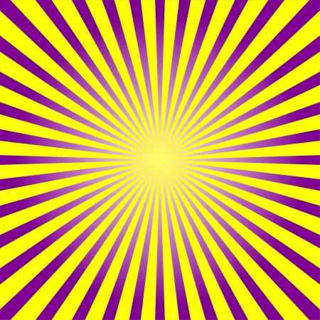 Colorful ray sunburst style background Vector