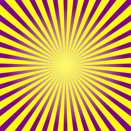 Kleurrijke ray sunburst stijl achtergrond