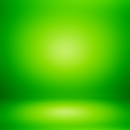 plain background: Green room abstract background