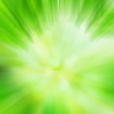 highspeed: Green abstract background with motion blur effect Stock Photo