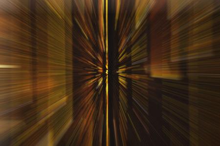 highspeed: Dark brown motion blur abstract background