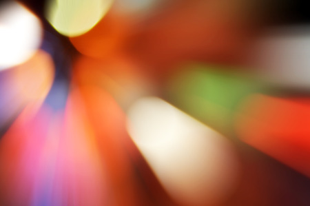 Colorful vibrant blurred light abstract background photo