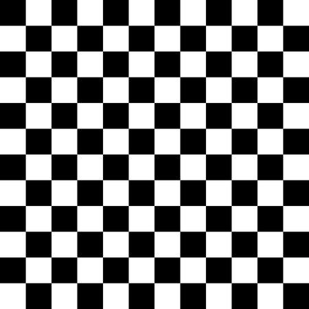 単純な黒と白の市松模様たス背景