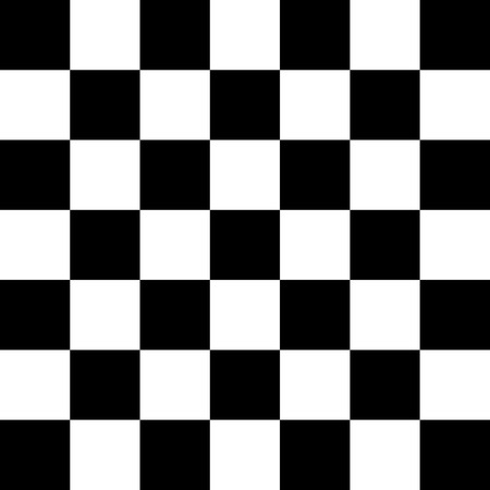 シンプルな黒と白の市松模様たス背景