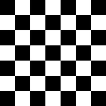 Eenvoudige zwart-wit geblokte abtract achtergrond