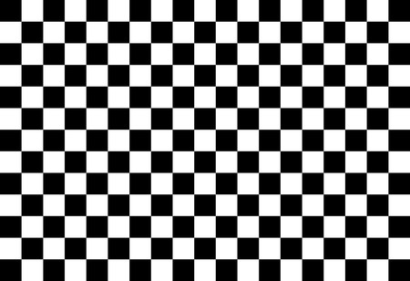 checker: Simple black and white checkered abtract background Illustration
