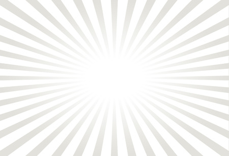 soft center: White and gray ray sunburst style abstract background