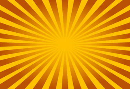 soft center: Colorful yellow and brown ray sunburst style abstract background