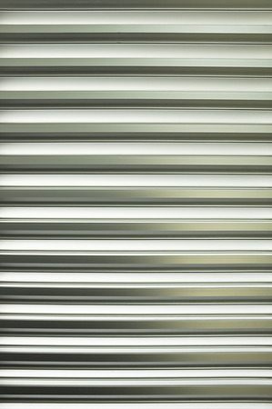 Pattern of metal louver photo