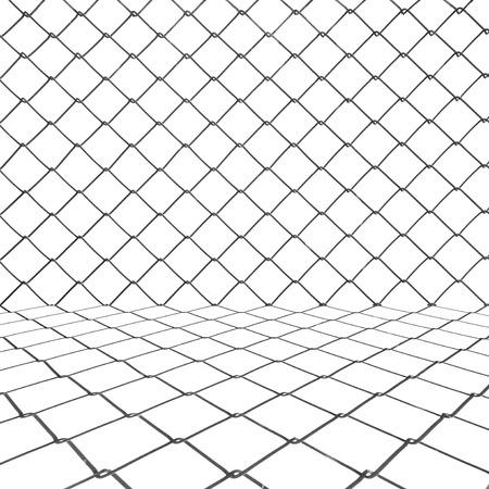 chainlink: Metal chainlink grid background