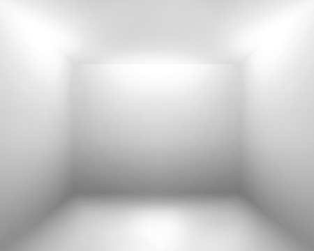 perspective room: White gray room abstract background Stock Photo