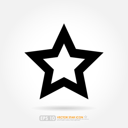 Simple star outline vector icon stock photo picture and royalty simple star outline vector icon stock photo 28162659 sciox Gallery