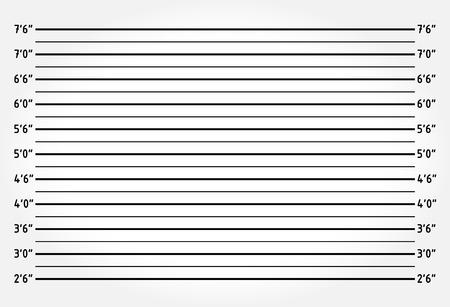警察のラインナップや mugshot の背景 写真素材