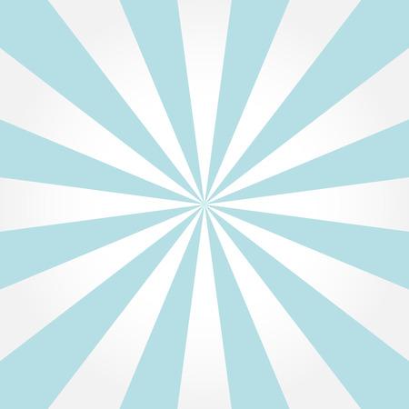 soft center: Retro white  & blue sunburst style abstract background