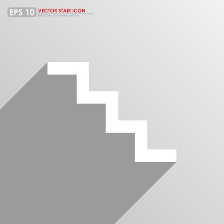 stair: icono de la escalera en el fondo se
