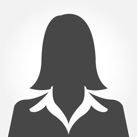 Femme avatar profil silhouette images