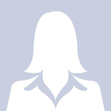 profile picture: Female avatar silhouette profile pictures Illustration