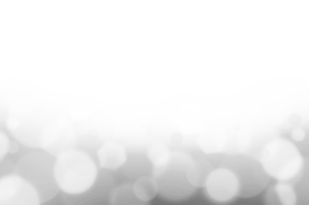 White gray bokeh abstract background photo