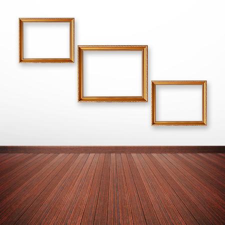 marcos decorados: Foto Oro enmarca en la pared interior de la habitación