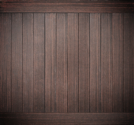 Dark brown wood plank texture Stock Photo