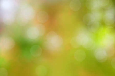 lens flare: Abstract colorful green background with bokeh or lens flare effect
