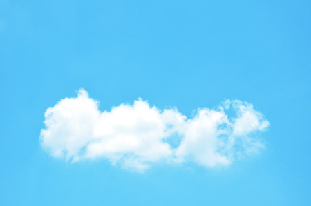 Blue sky   clouds photo