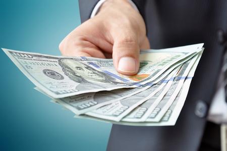 cash money: Dinero - billetes de dólar de EE.UU. (USD)