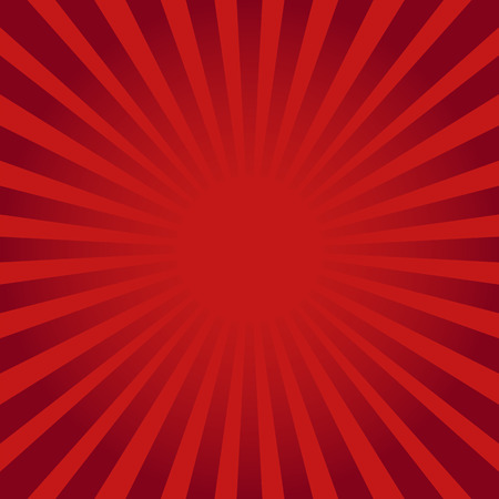 Red ray sunburst style abstract background