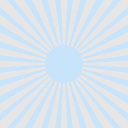soft center: White & blue ray sunburst style abstract background